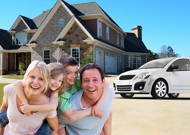 Home, Auto, and Life Insurance